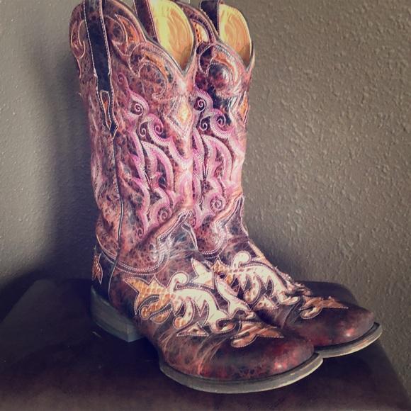 ff4f8e51206 Stetson Fashion Western Boots